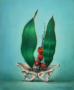 Fruit of the dead (study) 2012 by Gina Kalabishis